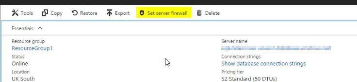 2017-05-05 17_08_06-Database1 - Microsoft Azure