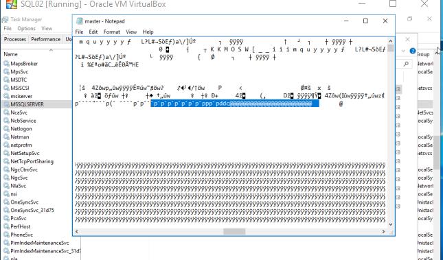 2017-07-30 21_09_54-SQL02 [Running] - Oracle VM VirtualBox