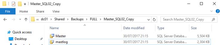 2017-07-30 21_18_37-SQL02 [Running] - Oracle VM VirtualBox